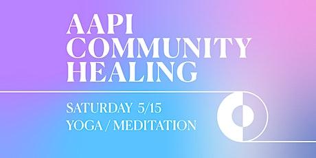 AAPI Community Healing tickets