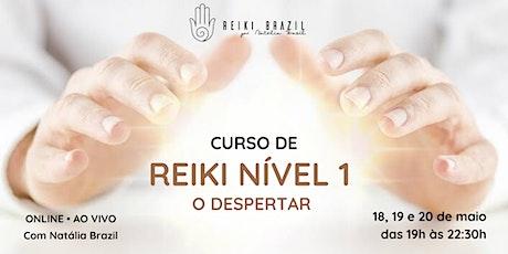 Formação em Reiki Nível 1 - por Natália Brazil ingressos