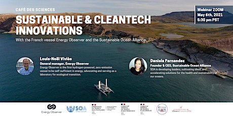 Café des Sciences, Sustainable and Cleantech Innovations with EO and SOA tickets