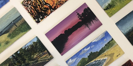 Opening Night : 9 x 5 Little Landscapes Art Exhibition tickets