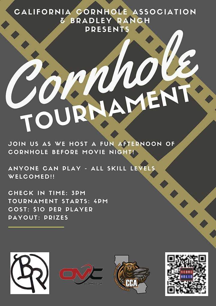 2021 Roll'in Movie Night - with Mini Cornhole Tourney! image