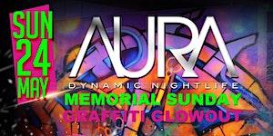 Club Aura Memorial Sunday Graffiti Glowout