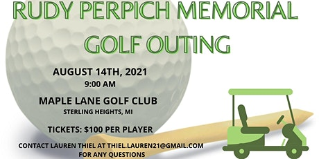 Rudy Perpich Memorial Golf Outing 2021 tickets