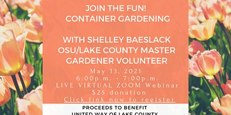 Container Gardening with Shelley Baeslack tickets