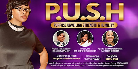P.U.S.H Women's Conference tickets