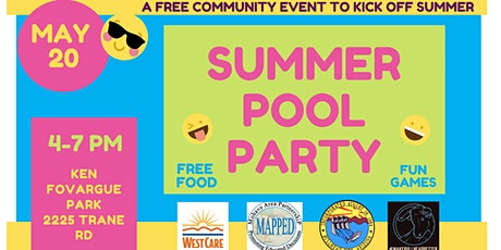 Family Fun Night - Summer Pool Party tickets