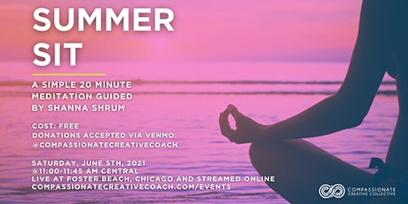 Summer Sit: A Simple Meditation At The Beach tickets