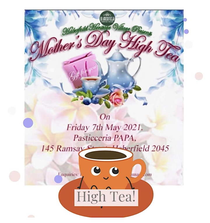 Haberfield Mother's Day High Tea image