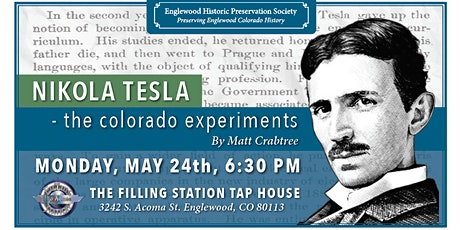 EHPS Lecture Series: Nikola Tesla tickets