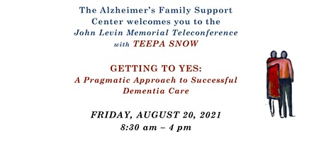 GETTING TO YES:  A Pragmatic Approach to Successful Dementia Care tickets