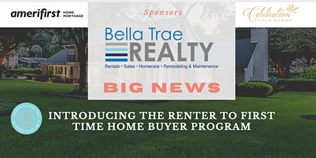 Success! The Renter To First Time Home Buyer Program tickets