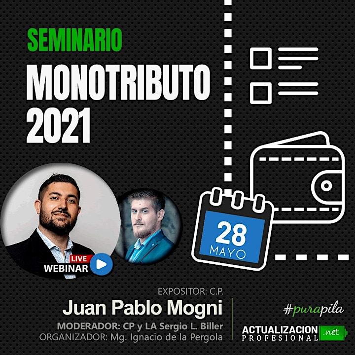 Imagen de Grabación - MONOTRIBUTO 2021 y Nueva Ley!