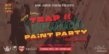 Trap N' Brunch Paint Party tickets