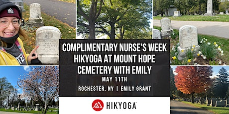 Nurse's Week Hikyoga at Mt.Hope Cemetery with Emily tickets