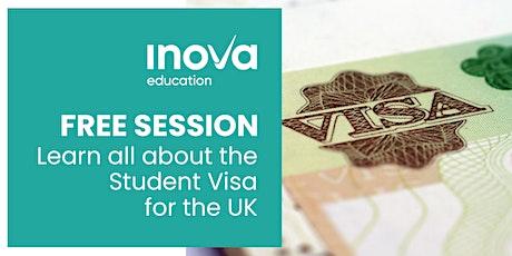 UK Student Visa Support Service - sesión informativa en línea tickets