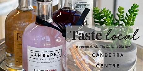Taste Local Workshops with The Canberra Distillery tickets