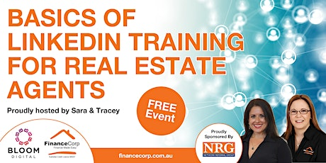 Basics of LinkedIn Training for Real Estate Agents tickets
