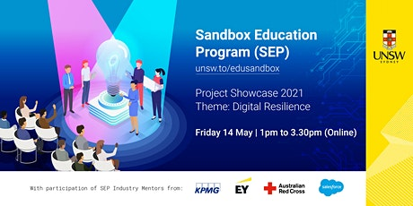 Sandbox Project Showcase (Theme: Digital Resilience) tickets