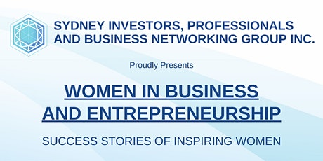 SIPBN Inc. Presents: Women in Business and Entrepreneurship tickets