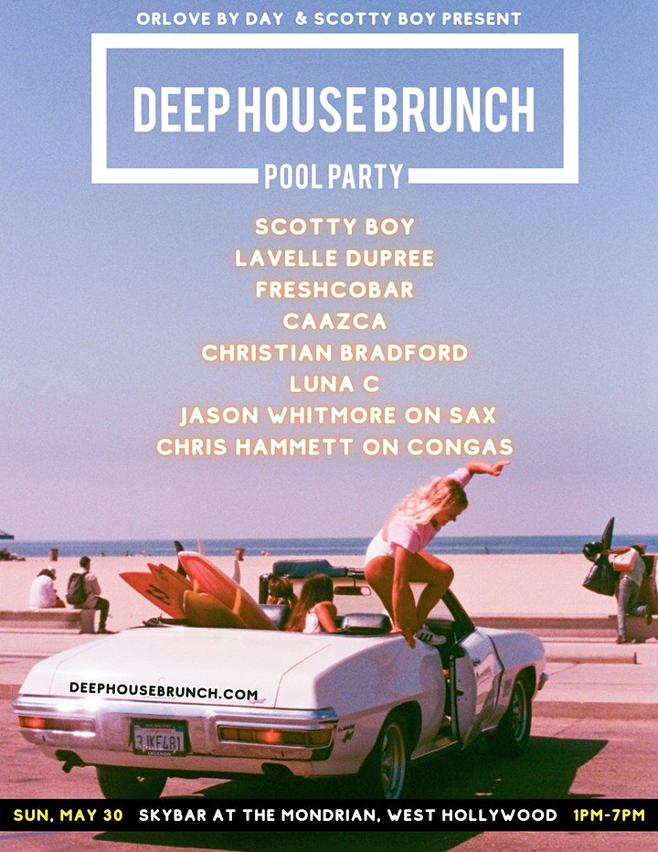 Deep House Brunch POOL PARTY image