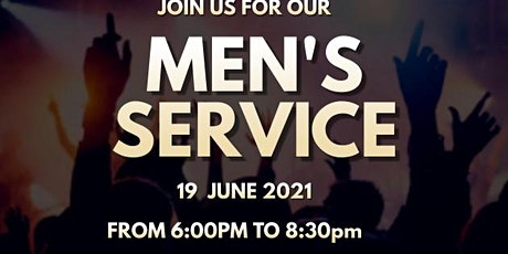 Men's Appreciation Service tickets