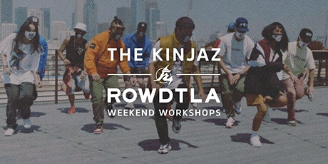 WEEKEND WORKSHOPS: Kinjaz Int/Adv Level Choreo Dance Class tickets