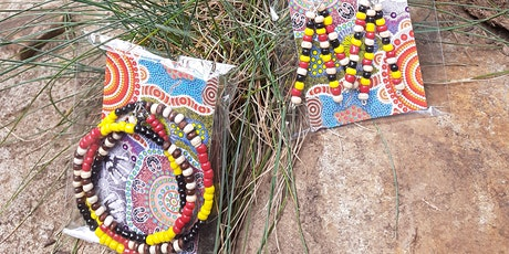 Aboriginal Style Beaded Jewellery Making Workshop Ages 7 plus tickets