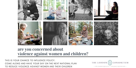 Influence the National Plan to Reduce Violence Against Women and Children tickets