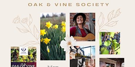 June 13 Oak & Vine Society spring tasting rescheduled tickets