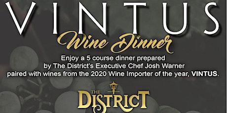 Vintus Wine Dinner tickets