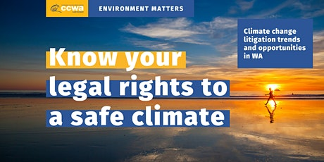 Environment Matters: Know your legal rights to a safe climate tickets