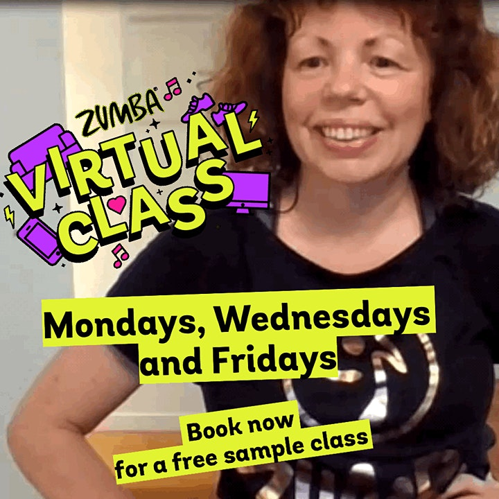 Live Online Zumba Gold with Ellie image
