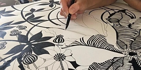Botanical Ink Drawing for Beginners  - 6 Week Course tickets