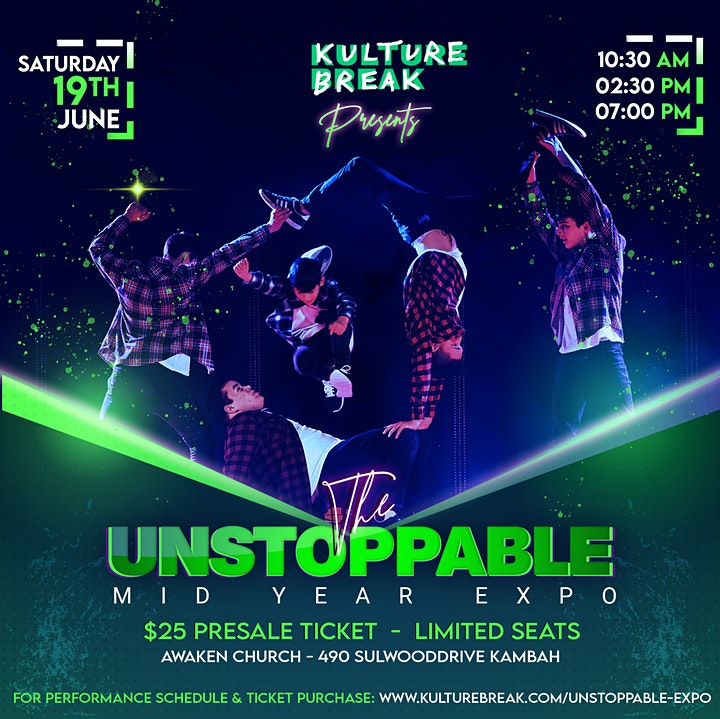 Kulture Break presents UNSTOPPABLE Mid-Year Fundraiser Expo image