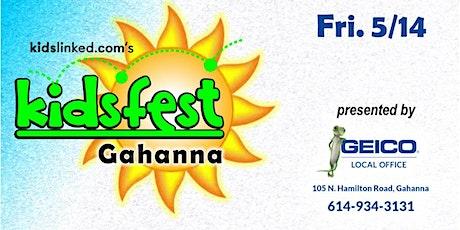 VENDOR REGISTRATION: Gahanna Kidsfest 5/14/2021 tickets