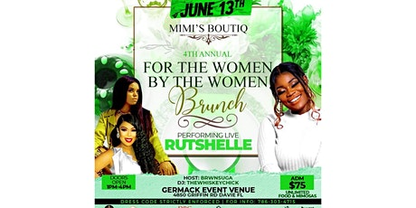 """MIMI'S BOUTIQ """" FOR THE WOMEN, BY THE WOMEN BRUNCH"""" ALL SHADES OF GREEN tickets"""