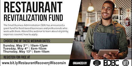 Restaurant Revitalization Fund Seminar tickets