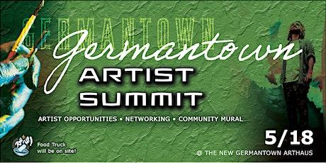 Germantown Artist Summit! tickets