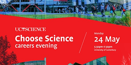 Choose Science careers evening tickets