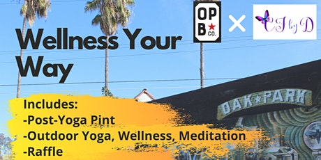 Wellness Your Way with Oak Park Brewing Co. and Creatively Fit by Dorothy tickets