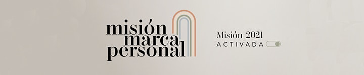 Imagen de Misión Marca Personal  Mayo | 14° Edición