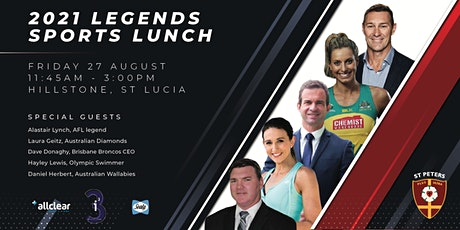 St Peters Legends Sports Lunch tickets