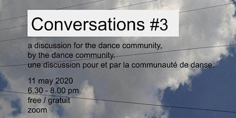 Conversations #3 tickets