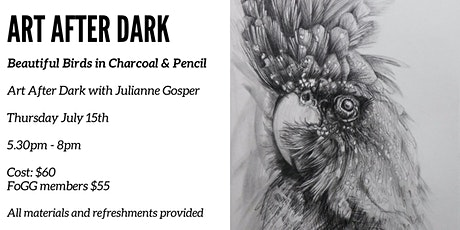 Beautiful Birds in Charcoal & Pencil tickets