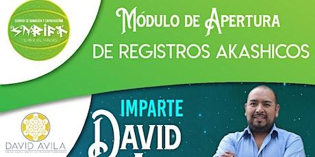 """Modulo """"Apertura"""" Registros Akáshicos de la Escuela RAM boletos"""