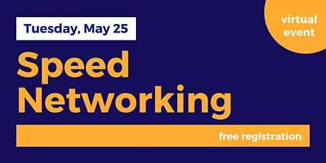 Speed Networking for Entrepreneurs tickets
