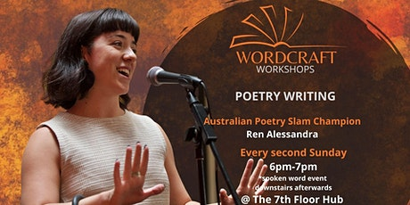 Wordcraft Workshops - Poetry Writing at 7th Floor Hub tickets