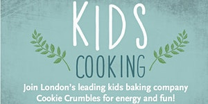 Kids Energy & Fun Baking with Cookie Crumbles at Whole...