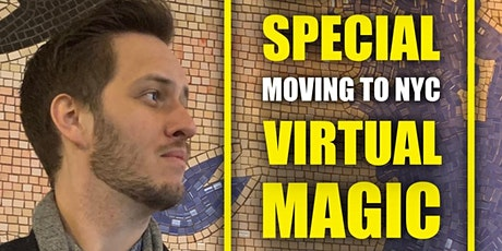 Ryan Kane Special Moving-To-NYC Virtual Magic and Comedy Show Tickets