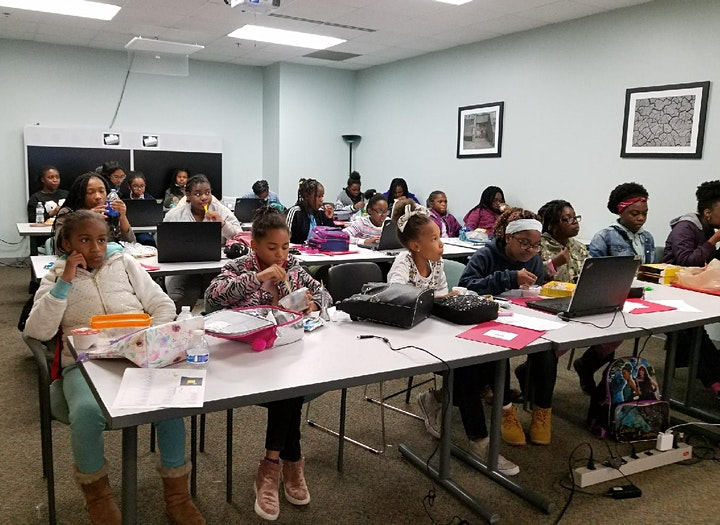 Girls Soaring in STEM  - Virtual Conference for Middle School Girls & Women image